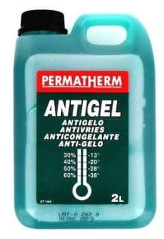 L'antigel : attention danger !